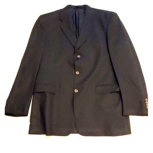 Burberry London 3 button blazer 42 long